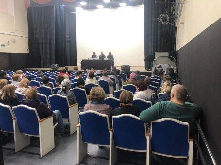 Встреча с населением по вопросам обеспечения пожарной безопасности в весенне-летний период