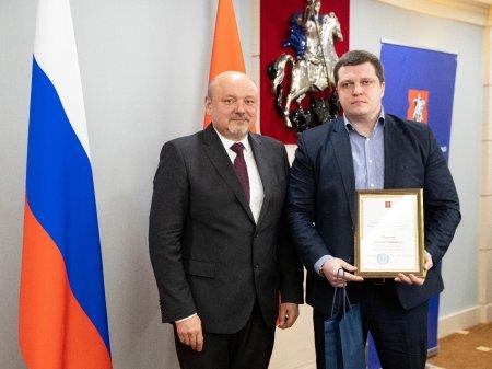 Награждение Власенко
